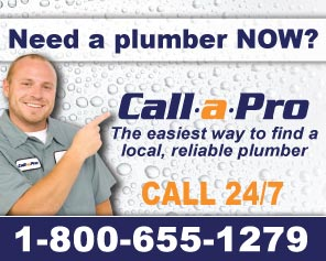 Call A Pro to find local, reliable plumbers